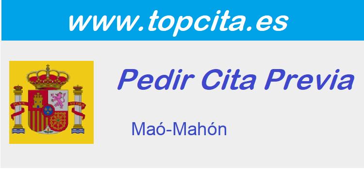Cita Previa  mao-mahon