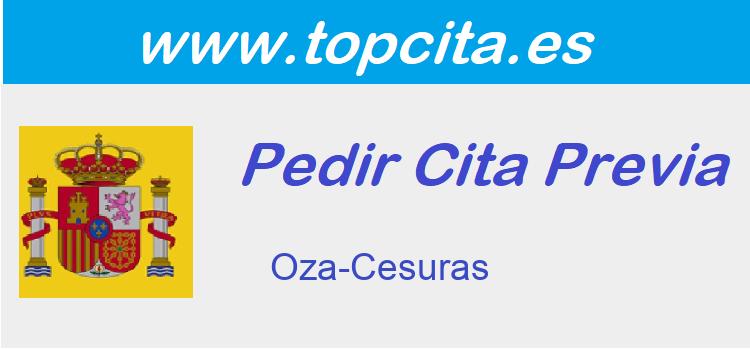 Cita Previa  oza-cesuras